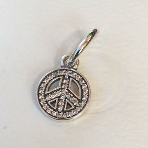 Pandora Symbol Of Peace Charm ☮️